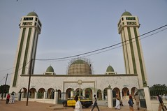 Medina Baay mosque, near completion of its renovation, 2009