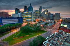 Downtown from Grant Park 3 (Greg Benz Photography) Tags: twincities hdr downtownminneapolis carbonsilverphotography