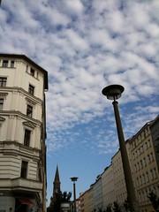 berlin@zionskirchstrae (Winfried Veil) Tags: street sky berlin church clouds germany deutschland veil kirche himmel wolken lantern laterne mitte winfried prenzlauerberg streetlantern bln lassunsfreundebleiben zionskirche mobilew strasenlaterne zionskirchstrase winfriedveil stadtgetty2010