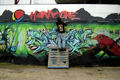 jaber in action (jaber was here.com) Tags: streetart graffiti montana paint sxsw cbs jaber haste sloke supher