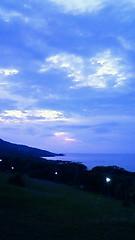 ホテルから見える海