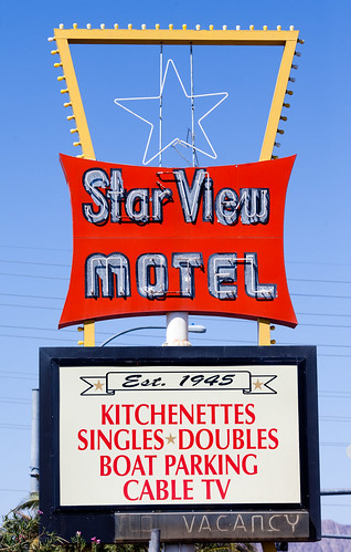 Star View Motel, Established 1945, RIP