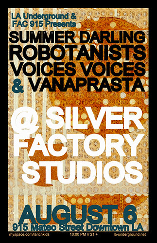 Los Angeles Loves... A Night at Silver Factory Studios