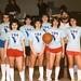 YBA 85 back Reau, Thielman, Sonnevil, Coach front - Susie Redmond, Weber, Maxey, Pam Magnum