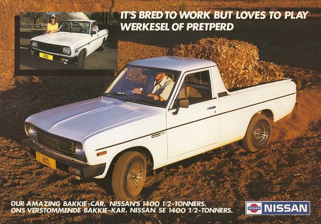 truck sunny pickup ute datsun bakkie 1400