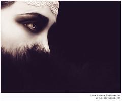 Sephia profile (mina.k) Tags: white black eye face profile caroline retro mina 20 sephia 1920 tal susann minack minak kullman iheartlomo