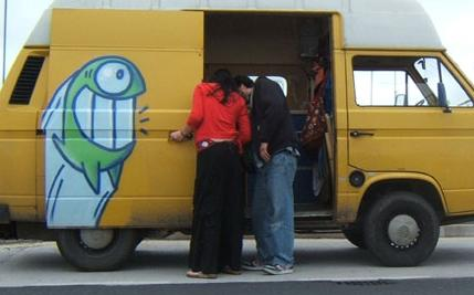 pez furgoneta