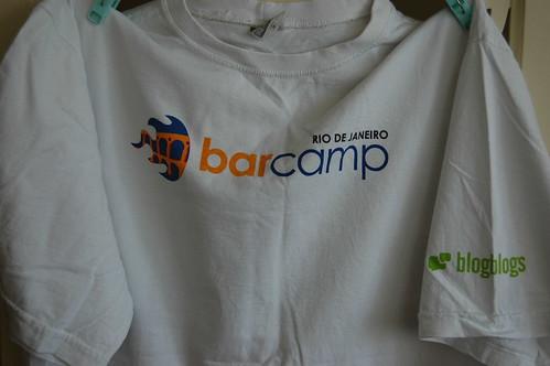 Camiseta brinde Barcamp Rio de Janeiro