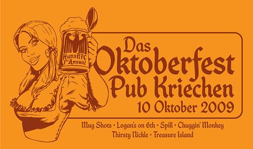 2009 Oktoberfest Pub Kriechen (crawl)