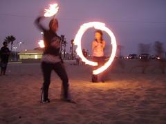 P9190034 (butterflyseekshoney) Tags: friends beach fireperformance dockweilerbeach burningmanafterparty