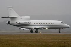 SE-DJM - Private - Dassault Falcon 900EX - Luton - 090130 - Steven Gray - IMG_7573