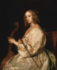 Portrait of Mary Ruthven, wife of the artist. Anthonis van Dyck