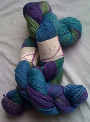 Lorna's Laces Shepherd's Sock, 2 skeins