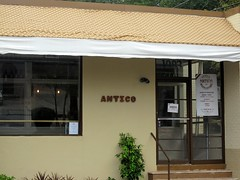 antico pizza - the building