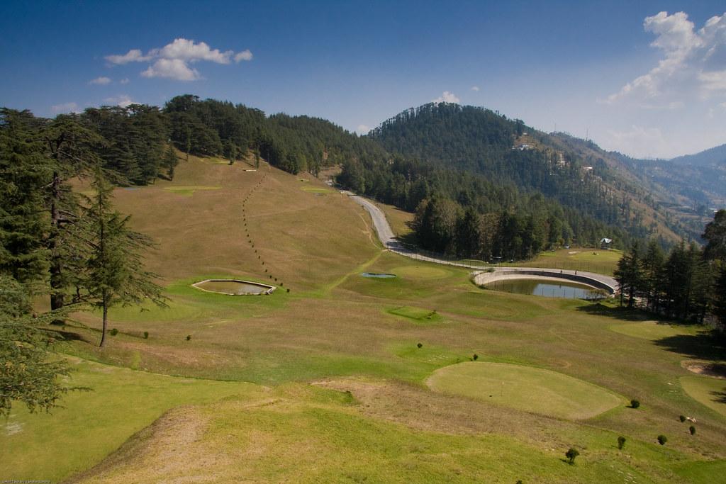 Naldehra Golf course. highest in India