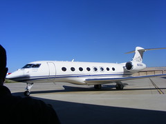 Gulfstream G650 to the hangar (AviationQueen) Tags: aircraft augusta gulfstream ags rollout g650