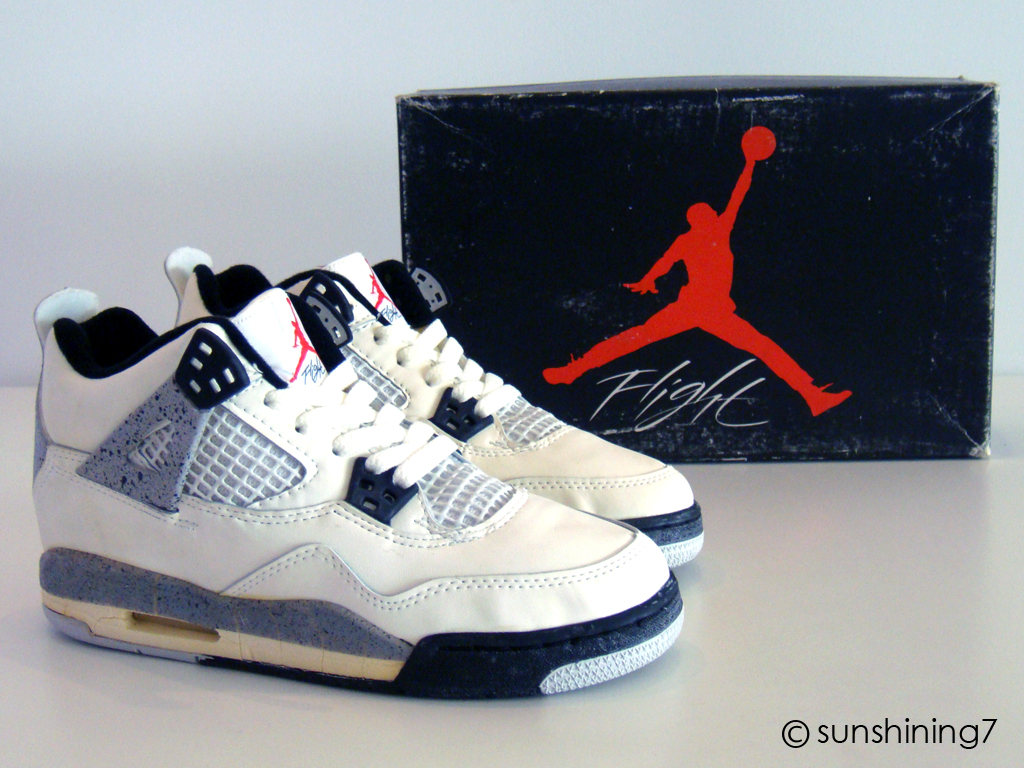1989 Nike Air Jordan 4 Photos De Niketalk
