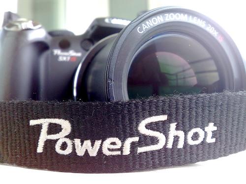Canon SX1 IS Powershot - macro