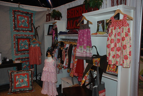 Sheree's Alchemy Booth at Houston Quilt Market 2009 by you.