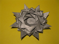 Gustavo Villamizar's Star (georigami) Tags: paper origami papel papiroflexia origamiforum