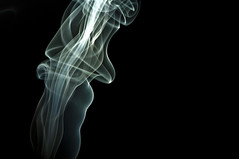 20091024-_DSC0037 (photonburst) Tags: black nikon colorful cone smoke puff surreal ethereal elegant dreamlike incense wisp drift waft httpphotonburstwordpresscom20091024photographingsmoke favoritessmokes