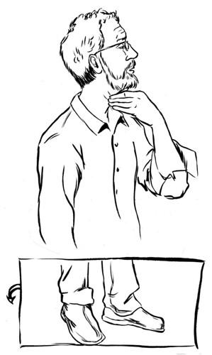 Tom De Haven Sketch
