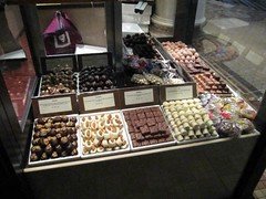 Yummy chocloates (jennyboduk) Tags: sydney qvb