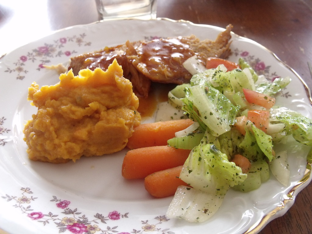 Apricot Glazed Pork Loin. - spark people recipe