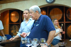 Maestro Ronero Guillermo Abbot Brugal leads us in a tasting of Ron Brugals line of rums