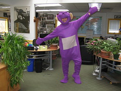 Hapy as Tinky Winky