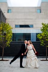 Adrienne & Jeremy (Chris Arace) Tags: wedding art fashion architecture mi portraits canon grand rapids gram tse museam strobes arace strobist aracephotographic wwwthereasonus
