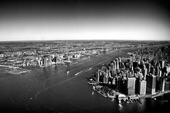 Dark City IV (nosha) Tags: new york nyc sky bw ny newyork beautiful beauty landscape nikon october view manhattan aerialview aerial helicopter f80 pm 2008 heli lightroom 18mm d300 blackmagic nosha 1125sec nikond300 1125secatf80 darkcoast photographerfemmemakita darkcityiv