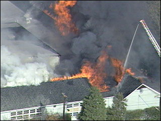 Marysville Fire Courtesy KATU