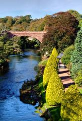 River Doon (Angela Freeman) Tags: bridge river scotland landscapes scenery ayr ayrshire alloway riverdoon