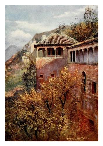 044-Granada-Tocador de la Reina-Southern Spain 1908- Trevor Haddon