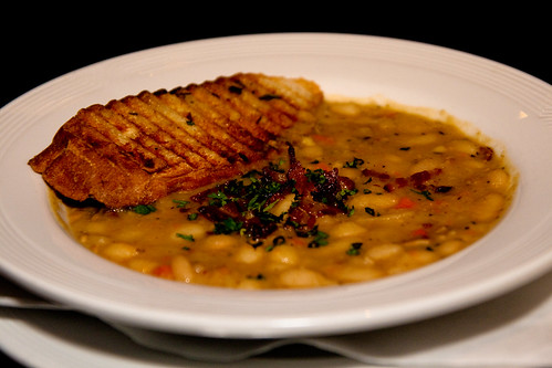 White Bean Cassoulet at Braddock's American Brasserie