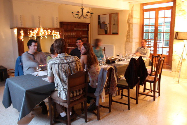 Dinner at La Vieille Ferme Normandy by Caroline on Crack