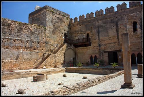 Alcázar Puerta de Sevilla (Patio de los Aljibes)
