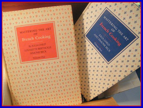 Julia Child Mastering The Art of French Cooking 1 & 2 by iloveupstate.