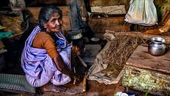 Her local kitchen (Henk oochappan) Tags: life city woman india canon eos women 2006 bazaar madurai tamil tamilnadu southindia dravidian indianwomen canoneos5d oochappan indianphotography indianlady tamilwoman tamillifeculture tamilwomen img3064c maduraicitylife