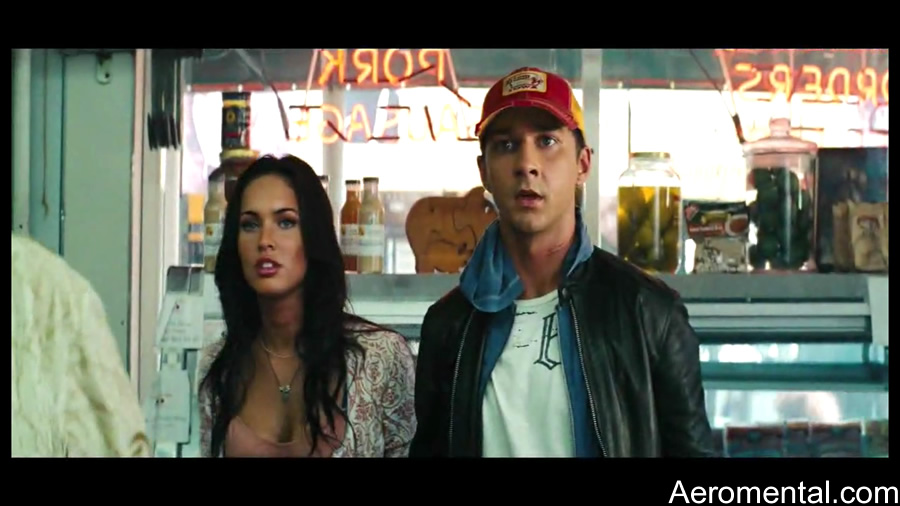 Tv Spots Transformers 2 Sam y Mikaela