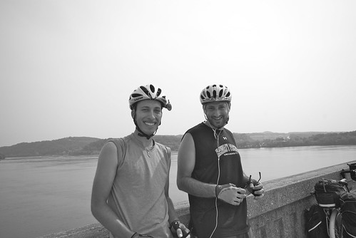 Joe and Carlos and the Susquehanna River