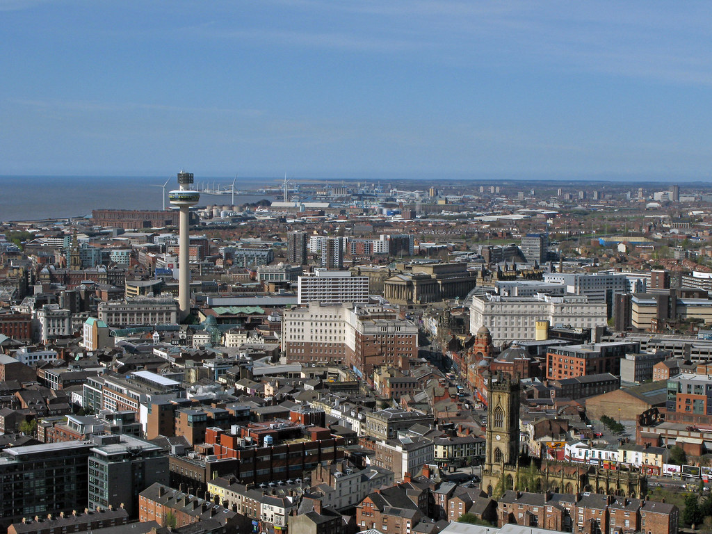 IMG 4656 View of Liverpool looking northwards.