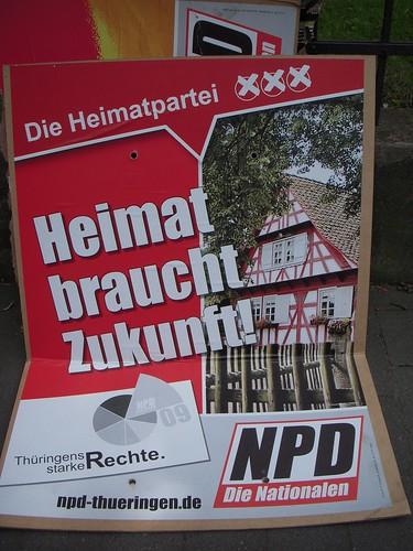 Nazi Campaign Poster.