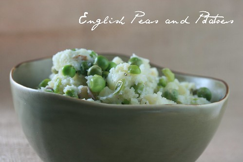 Food Librarian - English Peas and Potatoes