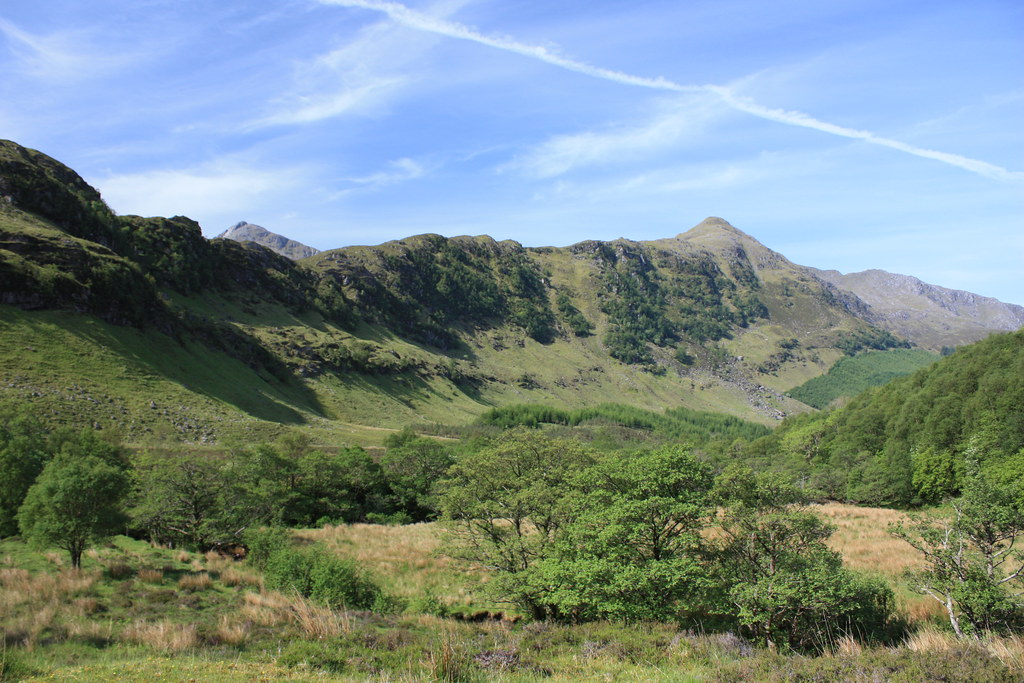 The upper reaches of Gleann Beag