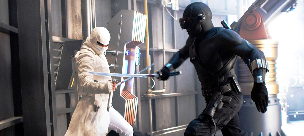 G.I. Joe Snake Eyes versus Storm Shadow