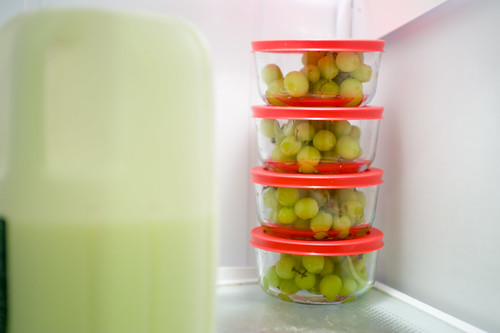 Pre-packaged Grapes for Lunches