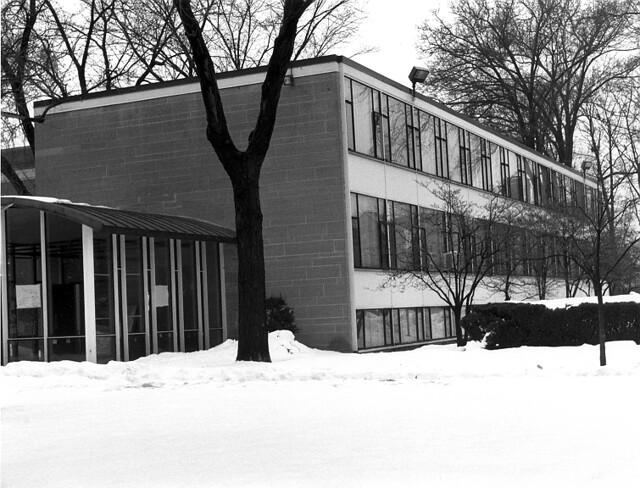 Christ Church Grosse Pointe Farms Education Building (1955) Minoru Yamasaki