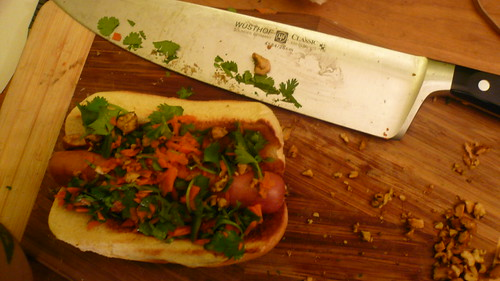 Homemade Thai Dog